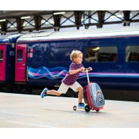 Scooter Suitcase for kids Zinc Flyte