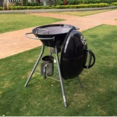 Charcoal Barbeque with Closed Lid top