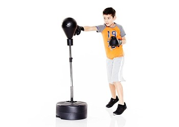 Boxing Punching Bag (spring base) for Kids