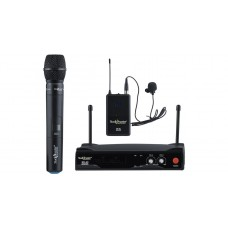 Wireless Dual Collar Lapel Mic set