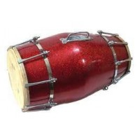 Hand played Dholak