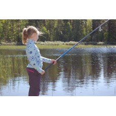 Fishing Rod for beginners, Rigid line