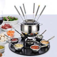 Cheese / Chocolate fondue set