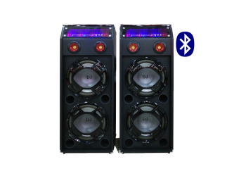 High output sound system with amplifier & mic