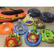 Fun assortment of Inflatable Pool Toys