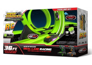 Twin Loop Remote Control Race set by Max Traxxx