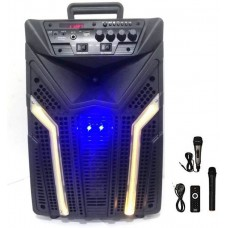 Bluetooth Portable Speaker cum Amplifier with mic