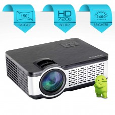 LED HD ready 2400 lumens Projector