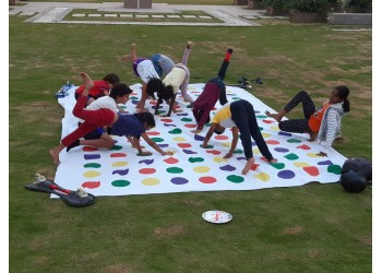 Giant Outdoor Twister Game