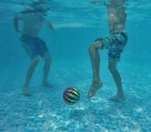 Watermelon Ball the Ultimate Swimming Pool Game