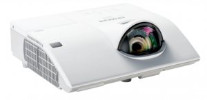 Short throw projector, Hitachi CP-CX300WN