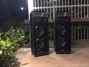 High output Speakers with amplifier & mic