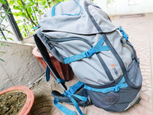 Bag, Backpack for Trekking 50L with waterproof cover