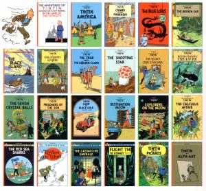 Adventures of Tintin set